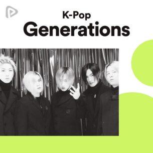 پلی لیست K-Pop Generations