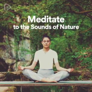 پلی لیست Meditate to the Sounds of Nature