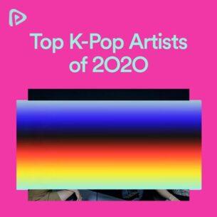 پلی لیست Top K-Pop Artists of 2O2O