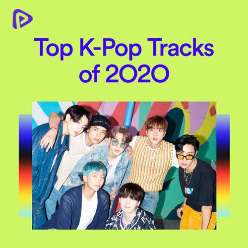 پلی لیست Top K-Pop Tracks of 2O2O