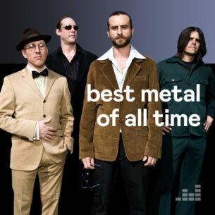 پلی لیست Best Metal of All Time